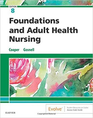 Foundations and Adult Health Nursing test bank