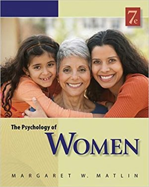 The Psychology of Women test bank