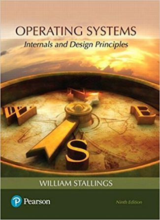stallings Operating Systems- Internals and Design Principles test bank