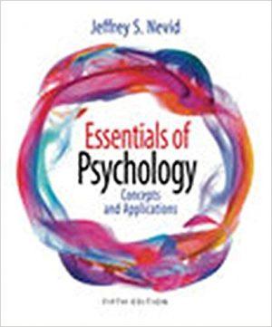 Essentials of Psychology nevid test bank