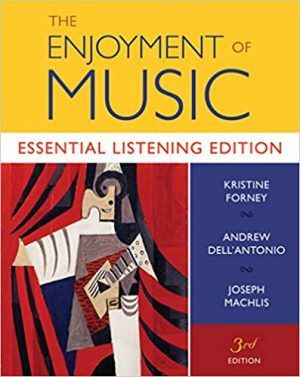 Enjoyment of Music test bank